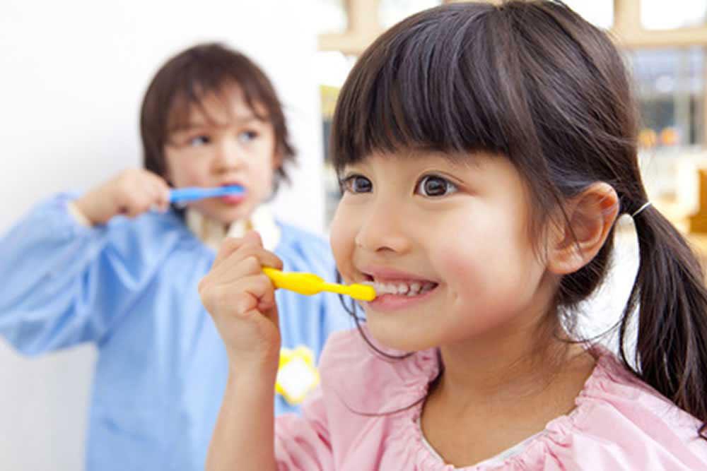 きちんとした歯磨き