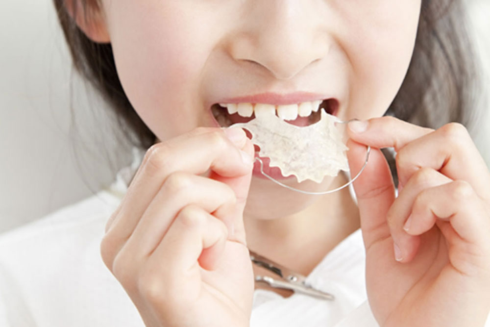 口呼吸を改善する